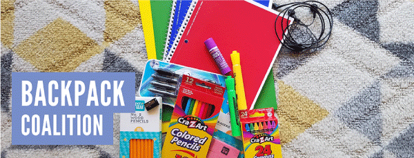 Backpack Coalition is committed to providing backpacks and school supplies to students with financial constraints, helping ensure they succeed in school