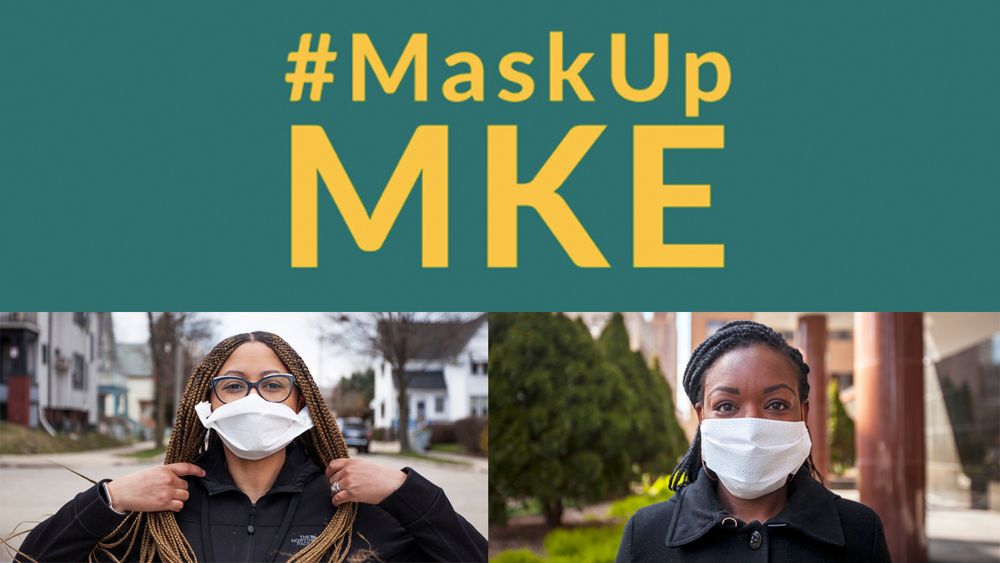 Join the movement to #MaskUpMKE